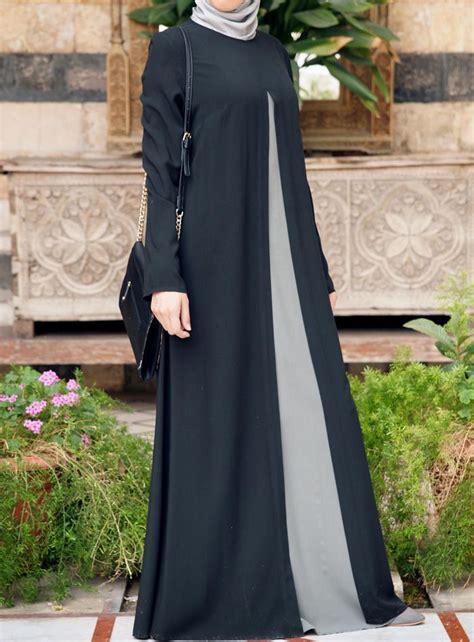 Elegan Jual Abaya Kaftan Gamis Syari Maxi Dress Baju Muslim Jumbo shukr usa the abaya islamic dresses