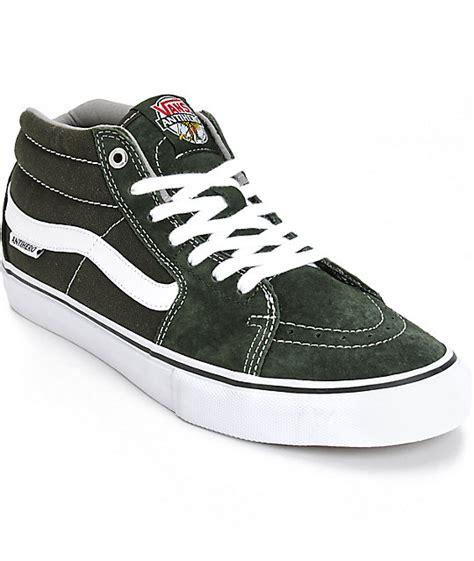 Sepatu Vans Anti Zero vans x anti sk8 mid skate shoes zumiez