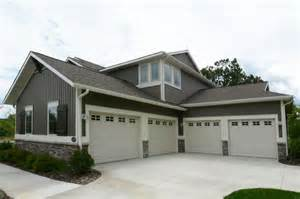 Rv Garage With Apartment Four Car Garage By Eastbrook Homes