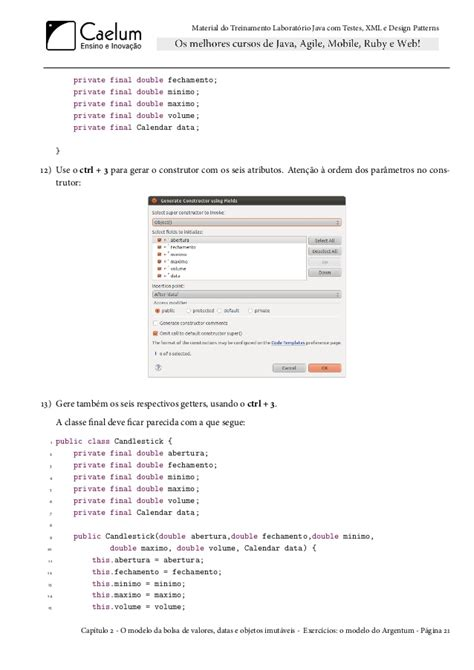 design pattern for xml caelum java testes xml design patterns fj16