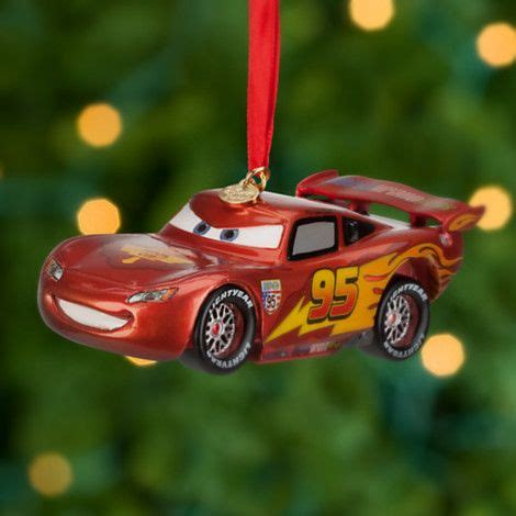 lightning mcqueen sketchbook ornament cars