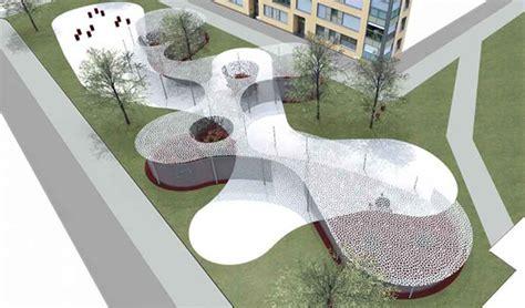 Small Floor Plan Design art park in bolzano italy oam architecture e architect