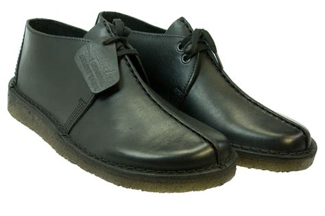 clarks originals desert trek leather shoes size 7 11