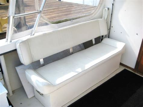boat bench seat wtb deck bench seat and small helm station the hull