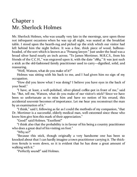 Arthur Conan Doyle - The Hound of the Baskervilles