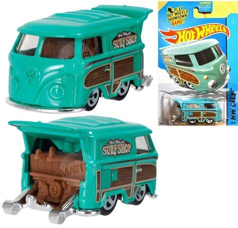 Wheels Kool Kombi Green hotwheels volkswagen golf gti beetle kool kombi squareback scirocco caddy set ebay