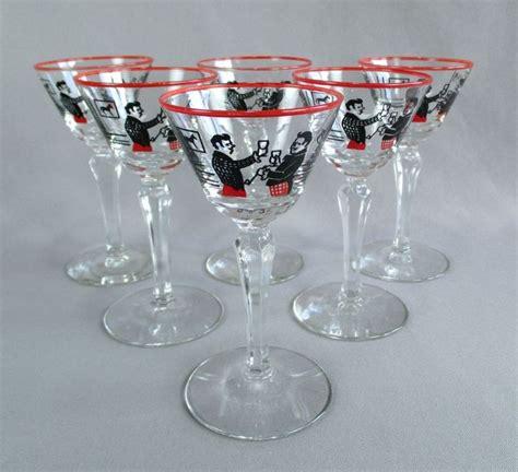 rock glasses barware libbey rock sharpe pickwick cocktail liquor glass set of 6