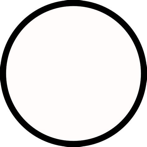 Circle Black Outline black circle medium outline clip at clker vector clip royalty free