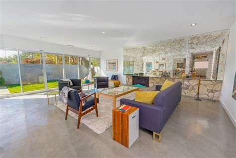 mid century modern in the los feliz estates is our house