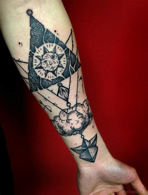 60 new styles geometry tattoos on arm