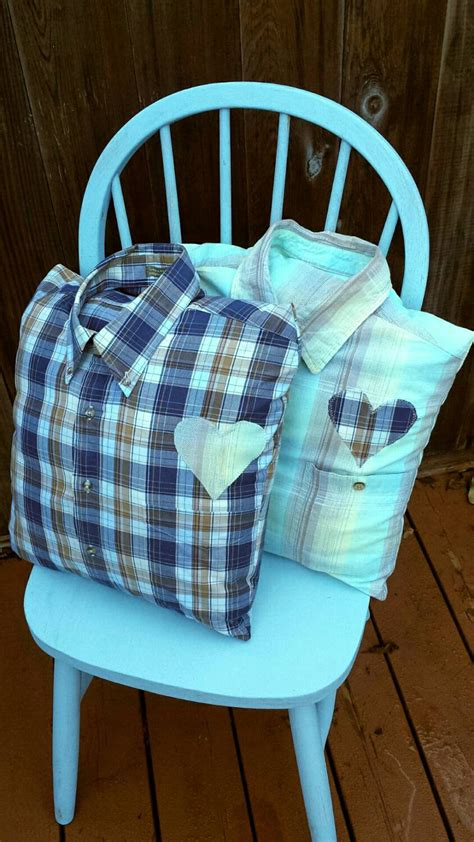 upcycled memory pillow cover made with clothing from your