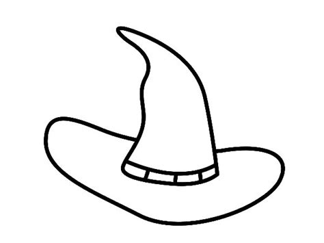 witch hat coloring book coloring pages