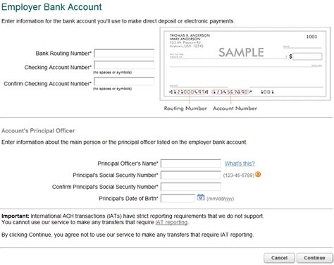 intuit templates payroll direct deposit form images frompo
