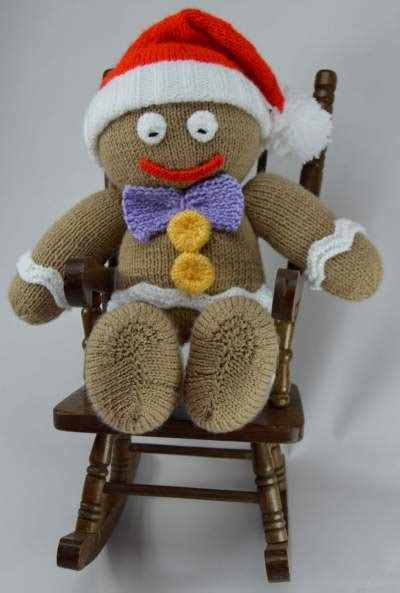 knitted gingerbread free pattern gingerbread knitting pattern knitting by post