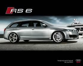 Audi A6rs Audi Rs 6 Avant Motoburg