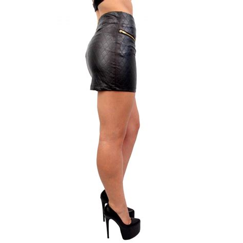 leather skirt photo