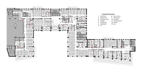 Open Layout Floor Plans Gallery Of Office Of Rd Construction Company Ind