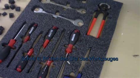5s methode mit schaumstoff schublade einfach selbst - 5s Schublade
