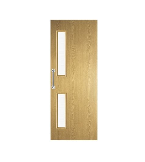doors howdens oak foil 16g glazed door flush doors doors