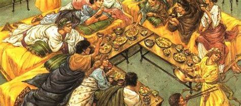 banchetti romani storia e sapori della cucina cana