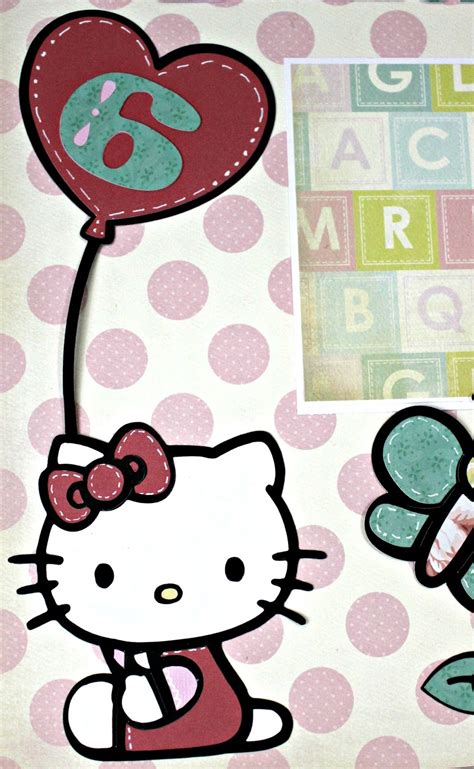 layout coc hello kitty busy with the cricky hello kitty six month layout