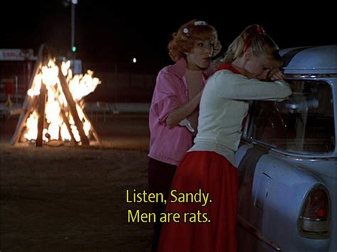 film quotes grease cry funny girl grease image 606644 on favim com