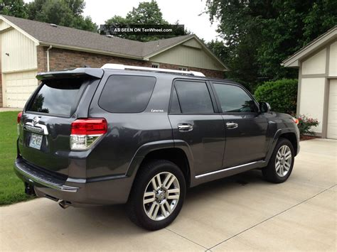 suv toyota 4runner 2013 toyota 4x4 4runner limited suv third row seating