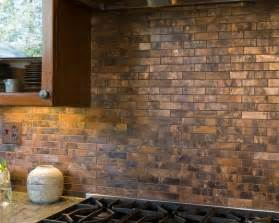 Copper Kitchen Backsplash Tiles by Copper Backsplash Tiles Kitchen Surfaces