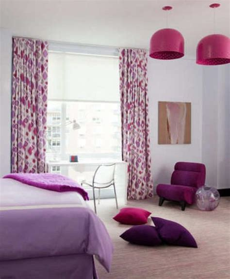 purple home decor modern home decorating ideas blending purple color into