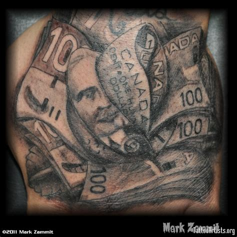 tattoo money money tattoos