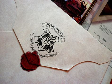 Harry Potter Hogwarts Acceptance Letter Envelope Hogwarts Letter Hogwarts Professors Photo 24783944 Fanpop