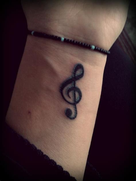 treble clef tattoos designs ideas and meaning tattoos