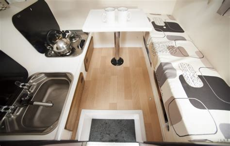 smallest cer van with bathroom world s smallest caravan is revealed