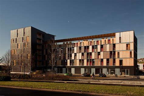Le Patio Aurillac by Habitat Collectif Immeuble De 42 Logements Vialenc