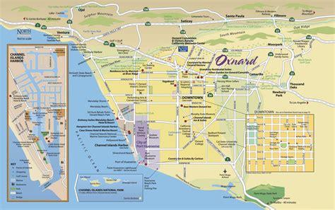 california map oxnard map oxnard california california map