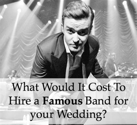 the cost to hire a band for your wedding