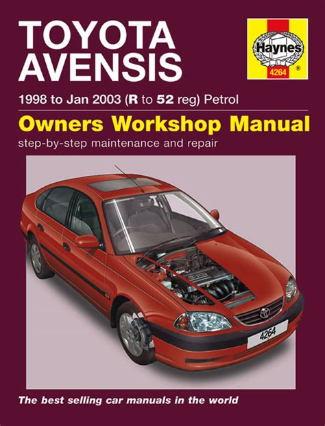 service manual how to fix cars 1998 toyota tacoma electronic toll collection toyota tacoma toyota avensis petrol 98 jan 03 haynes repair manual haynes publishing