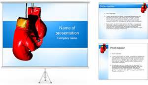 boxing gloves powerpoint template amp backgrounds id