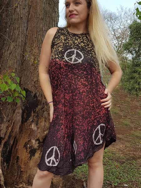Dress Batik Handmade batik dress made in nepal for wholesale himalayan