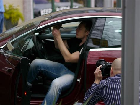 elon musk electric car tesla ceo elon musk will drive electric model s from la to ny