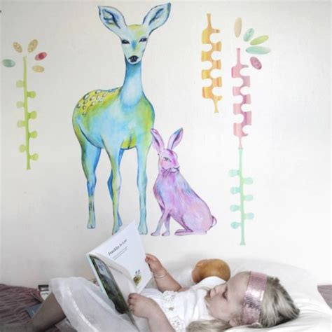 amazing wall stickers amazing handpainted fabric wall decals sticky tiki my desired home