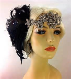 how to make a 1920s hairpiece art deco flapper headband the great gatsby 1920s