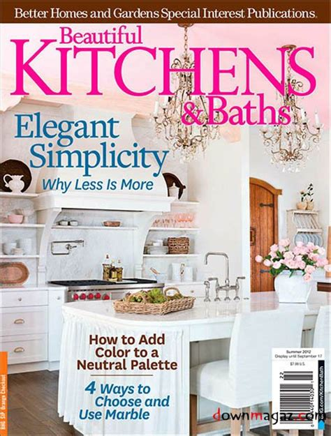 beautiful home design magazines beautiful kitchens baths magazine summer 2012 187 download