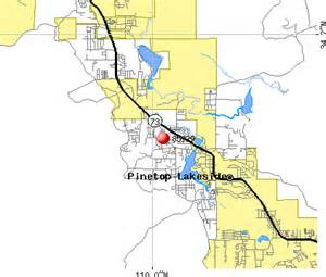 pinetop arizona map 85929 zip code pinetop lakeside arizona profile homes