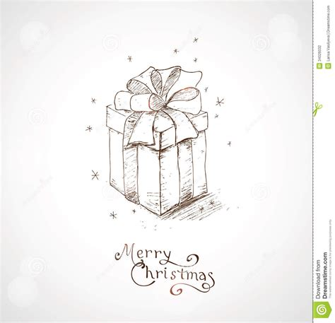 what to draw on a day card greeting card 4 stock vector image of present