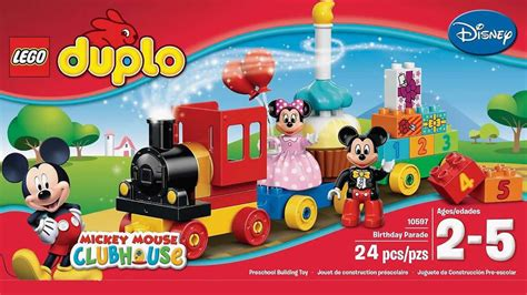 Lego Duplo Mickey Mouse Birtday Parade disney mickey mouse clubhouse birthday parade lego duplo 10597 set episode 2016
