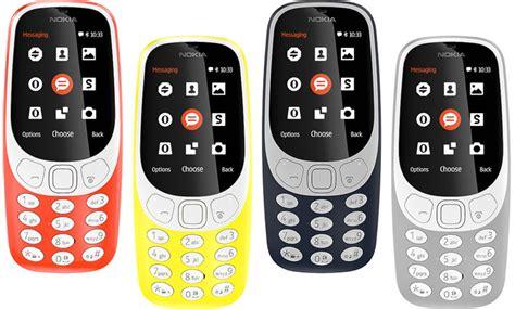 Nokia 3310 Reborn 2017 Dual Sim Garansi Resmi 1thn 187 nokia resurrects iconic 3310 feature phone unveils 3 new android smartphones