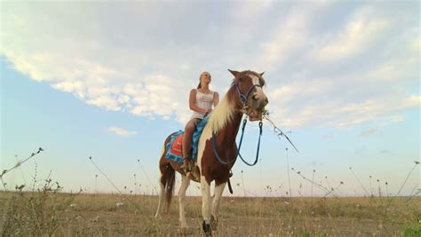 commercial girl riding horse horseback riding vacations girl rider with her horse in