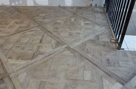Parquet Flooring Implementation Of Versailles Panels Parquet Floor