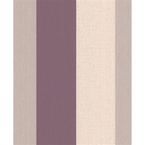 Loniya 2in1 Set Sfc superfresco java stripe wallpaper plum decorating diy